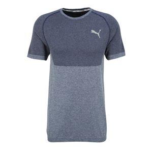 PUMA Funkčné tričko 'RTG Evoknit'  tmavomodrá