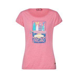 Derbe Tričko 'Sardines'  ružová / ružová