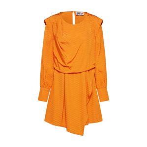 JUST FEMALE Šaty 'Shira'  oranžová