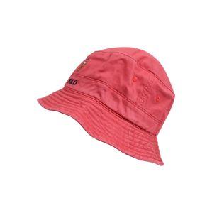 POLO RALPH LAUREN Klobúk 'LOFT BUCKET CAP W/ MULTI PP'  červené