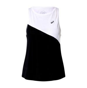 ASICS Funkčné tričko 'TOKYO TANK'  čierna / biela
