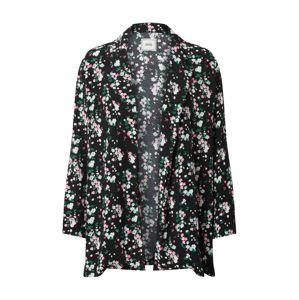 Pimkie Prechodná bunda 'Raichu'  čierna / biela / zelená