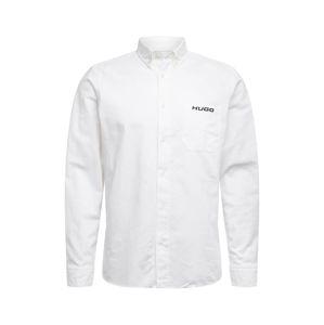 HUGO Košeľa 'Ermann'  biela