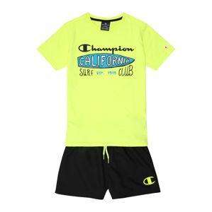 Champion Authentic Athletic Apparel Set  žltá / čierna