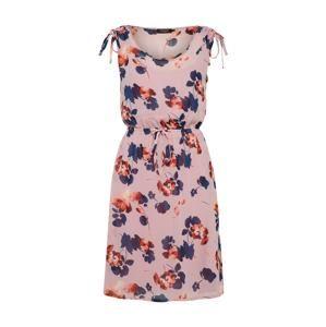 SOAKED IN LUXURY Letné šaty 'Silene'  modré / ružová