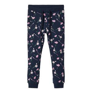 NAME IT Nohavice  ružová / námornícka modrá / zelená
