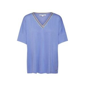 TOM TAILOR DENIM Oversize tričko  kráľovská modrá
