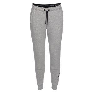 ADIDAS PERFORMANCE Športové nohavice 'W MH Batch of Sport'  sivá / čierna