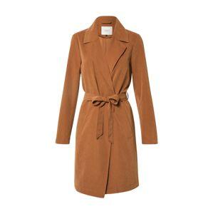 JACQUELINE de YONG Prechodný kabát 'JDYPASCHAL TRENCHCOAT OTW HAB'  hnedá
