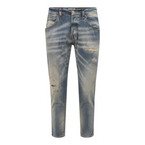 JACK & JONES Džínsy 'FRANK LEEN'  modrá denim