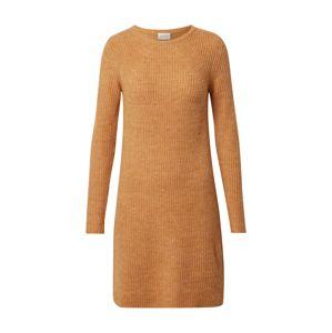 VILA Pletené šaty 'Suril'  svetlooranžová