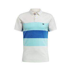 Dockers Tričko  vodová / biela