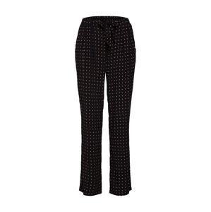 Soyaconcept Plisované nohavice  čierna