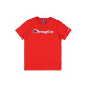 Champion Authentic Athletic Apparel Tričko 'Crewneck'  červená