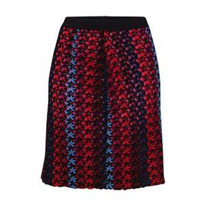 MAX&Co. Sukňa 'PODIO'  modré / červené / čierna