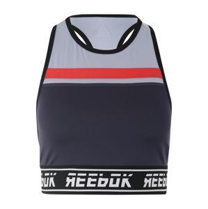 REEBOK Športová podprsenka 'WOR MYT'  námornícka modrá / modrosivá / červené