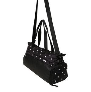NIKE Športová taška 'Radiate'  biela / čierna