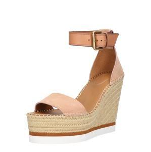 See By Chloé Remienkové sandále 'SB26152'  telová