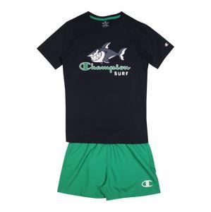Champion Authentic Athletic Apparel Set  modrá / zelená