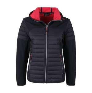 CMP Outdoorová bunda  tmavosivá / brusnicová
