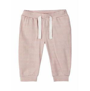 NAME IT Pyžamo  staroružová / biela