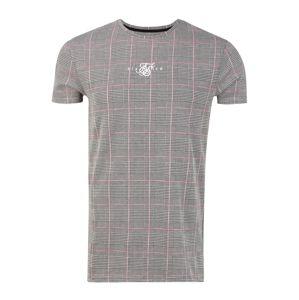 SikSilk Tričko  ružová / sivá
