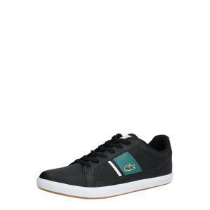LACOSTE Sneaker 'EUROPA 120'  zelená / biela / čierna