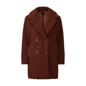 Boohoo Prechodný kabát  hnedé