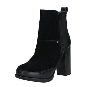 G-Star RAW Členkové čižmy 'Labour Zip Boot'  čierna