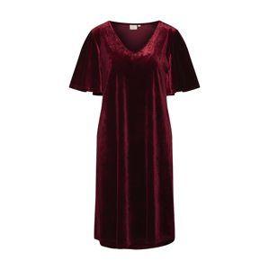 Cream Oversize šaty 'Aleixo'  bordové