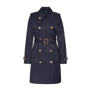 Lauren Ralph Lauren Prechodný kabát 'TRENCH PKT-COTTON-COAT'  námornícka modrá