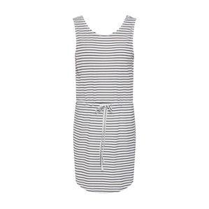 PIECES Plážové šaty 'BATISTA'  čierna / biela